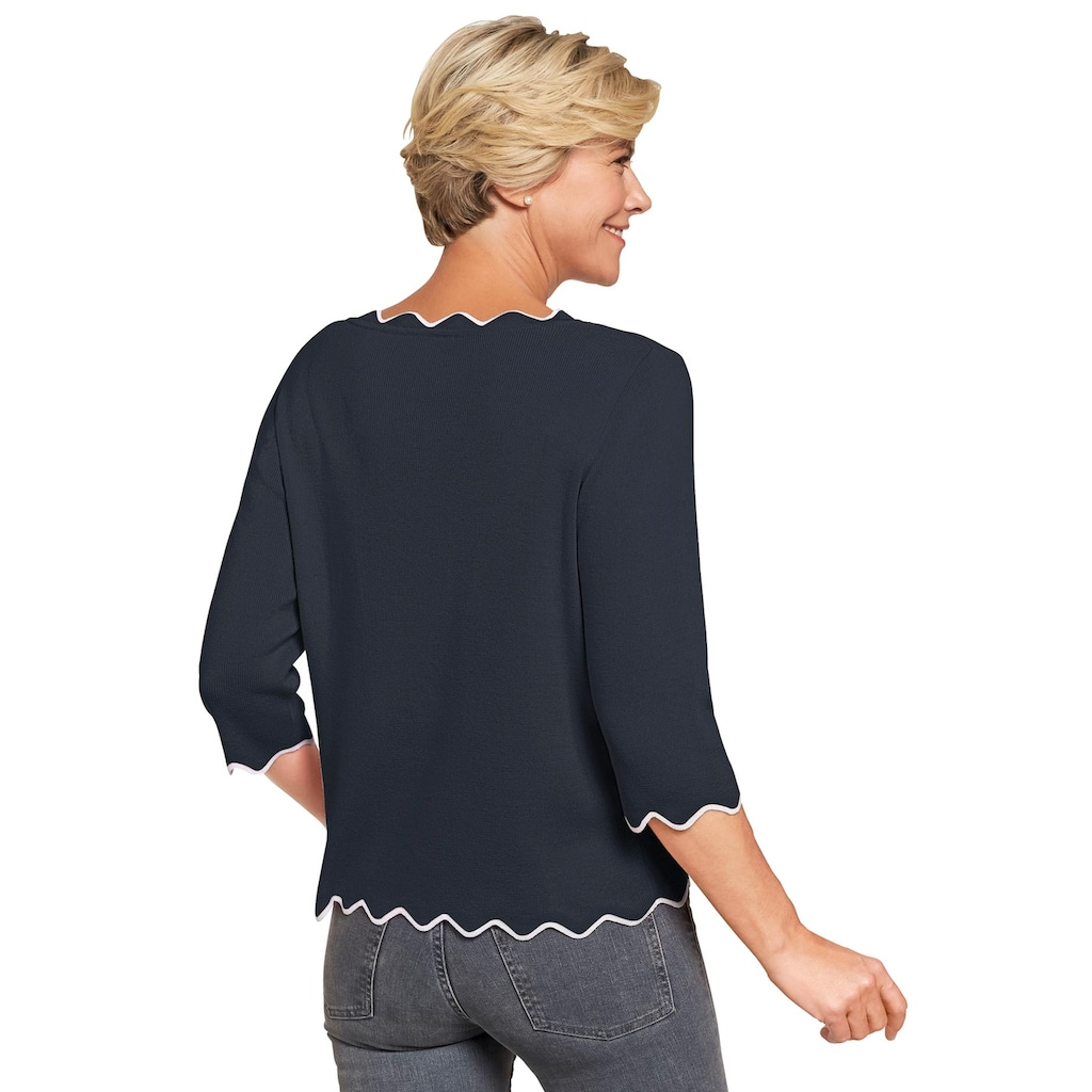Classic 3/4 Arm-Pullover »Pullover«