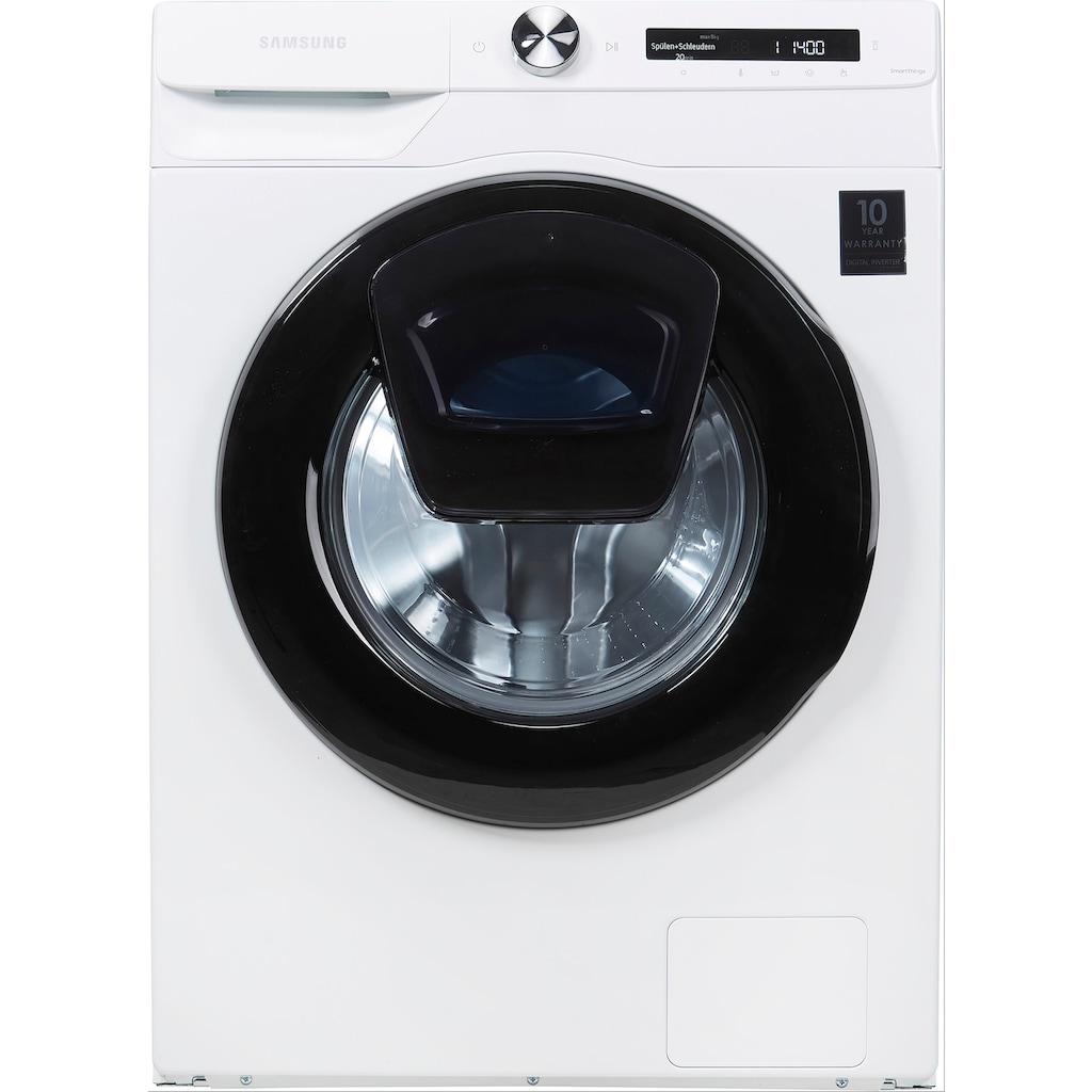 Samsung Waschmaschine »WW81T554AAW/S2«, WW5500T, WW81T554AAW/S2, 8 kg, 1400 U/min