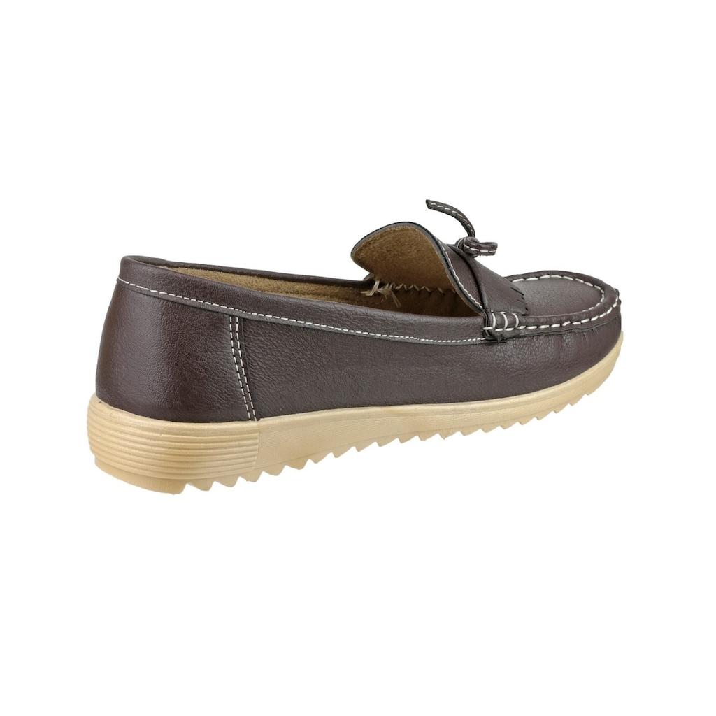 Amblers Safety Loafer »Elba Damen Sommerschuhe / / Slipper / Mokassins«