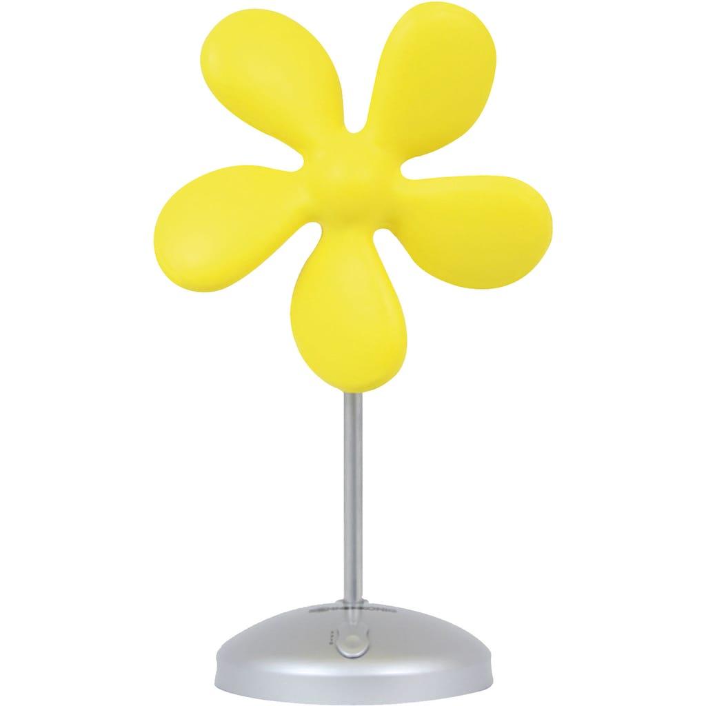 Sonnenkönig Tischventilator »Flower Fan gelb«