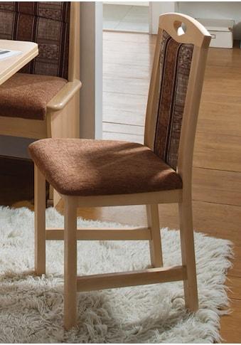 SCHÖSSWENDER 4-Fußstuhl »Luzern«, Gestell aus Massivholz kaufen