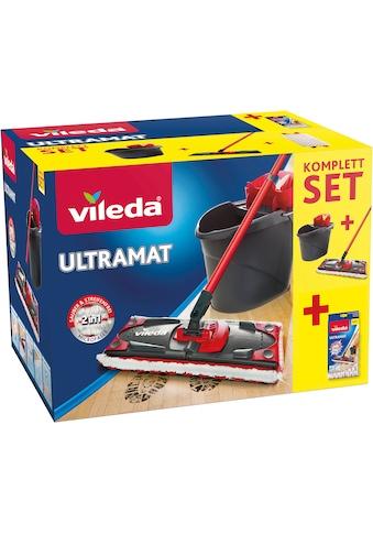 Vileda Bodenwischer-Set »Ultramat 2in1«, (3-teiligem Stiel, Mikrofaser-Bezug, Ultramat... kaufen