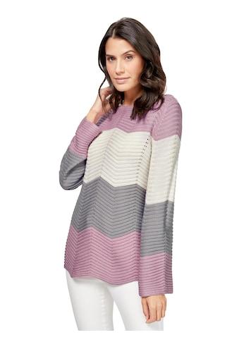 Inspirationen Pullover mit Ajourdetails kaufen
