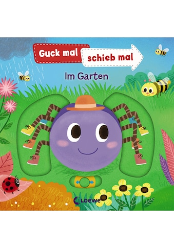 Buch Guck mal, schieb mal!  -  Im Garten / Yu - hsuan Huang, Anika Ziegler, Anika Dürtler kaufen