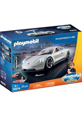 "Playmobil® Konstruktions - Spielset ""Rex Dasher's Porsche Mission E (70078)« THE MOVIE"", Kunststoff, (24 - tlg.) kaufen"