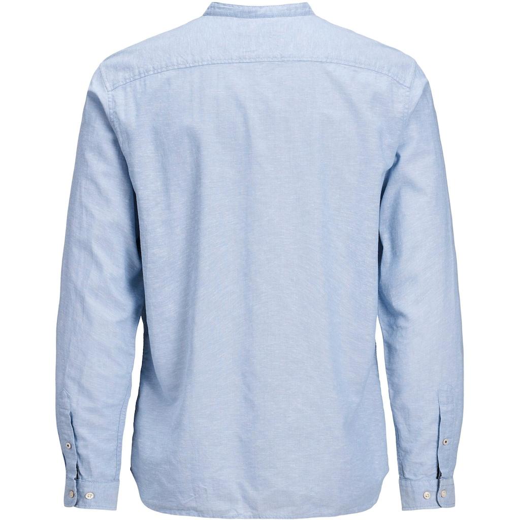 Jack & Jones Langarmhemd »SUMMER BAND SHIRT«