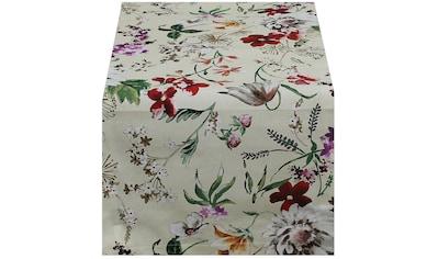HOSSNER - HOMECOLLECTION Tischläufer »Floral«, (1 St.) kaufen