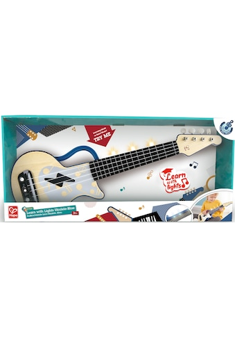 Hape Spielzeug-Musikinstrument »Elektrische Lern-Ukulele, blau« kaufen