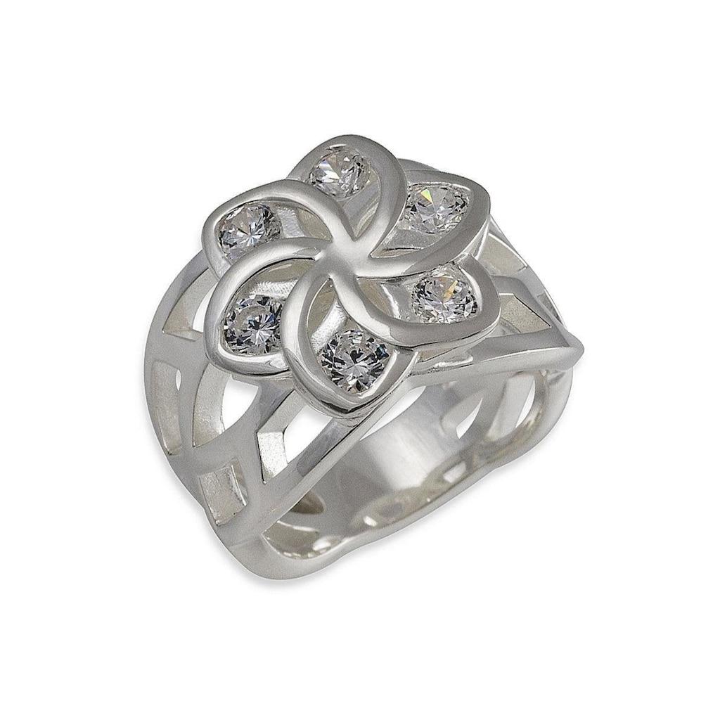 Der Herr der Ringe Fingerring »Nenya Flowers - Galadriels Ring, 10004106«, Made in Germany