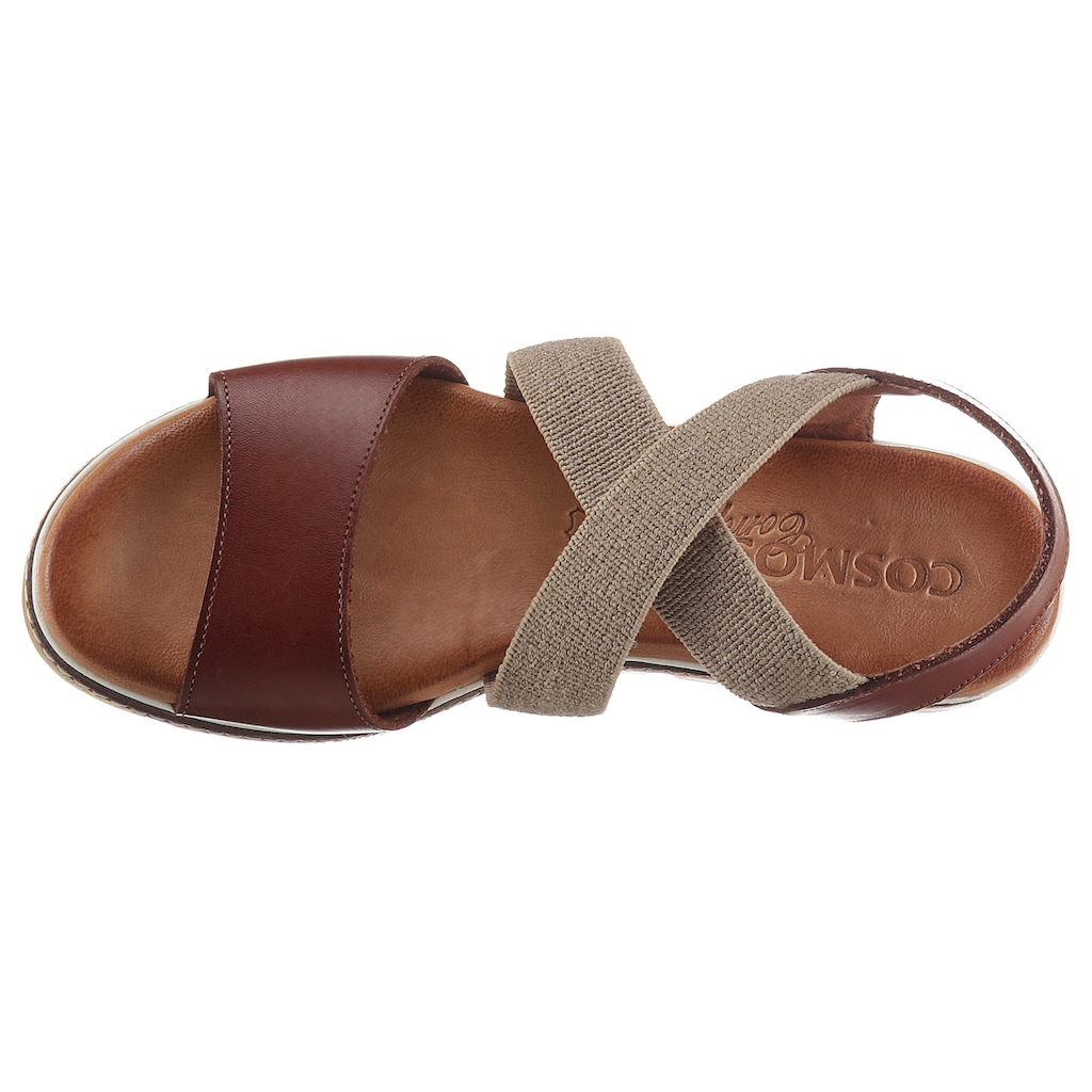 COSMOS Comfort Sandale, mit Gummizügen