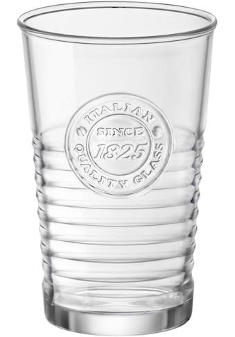 van Well Gläser-Set »Officina«, (Set, 6 tlg.), Mit schönem Relief-Design, 6-teilig kaufen