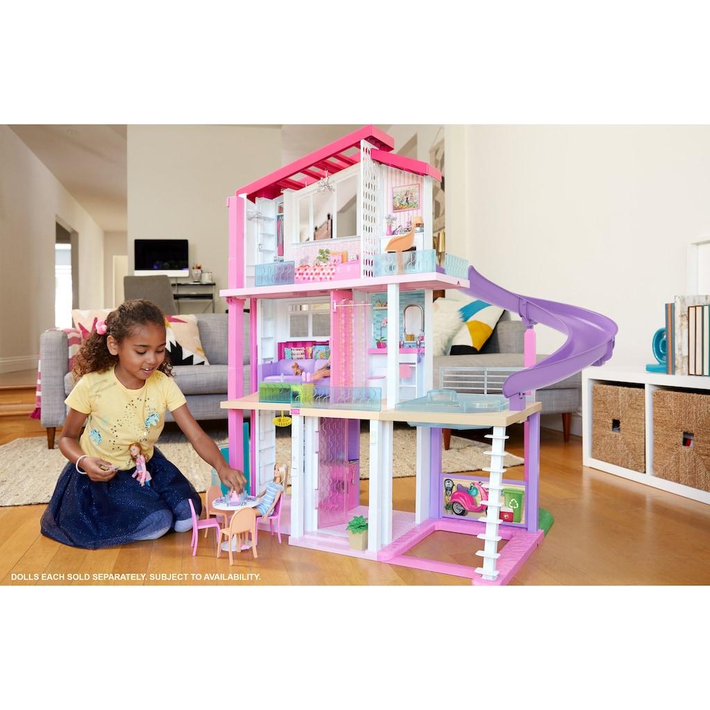 Barbie Puppenhaus »Traumvilla mit Pool, Rutsche und Aufzug«, mit Licht- und Soundeffekten