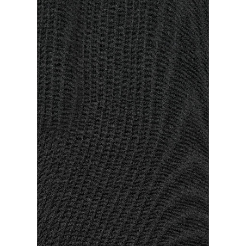 LASCANA Nachthemd, mit Grafikprint-Details