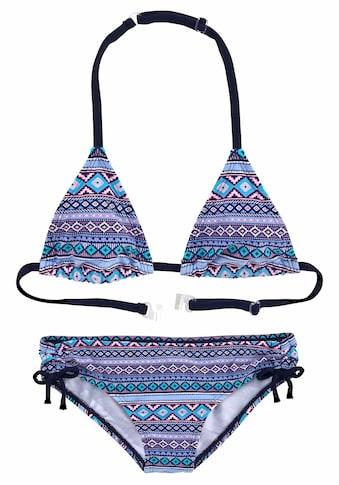 s.Oliver Triangel-Bikini, mit Ethno-Druck kaufen