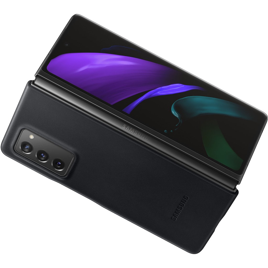 Samsung Smartphone-Hülle »Leather Cover«, Galaxy Z Fold2 5G
