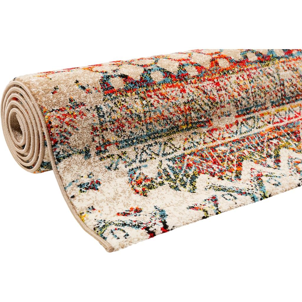 Wecon home Teppich »Riad«, rechteckig, 13 mm Höhe, Wohnzimmer