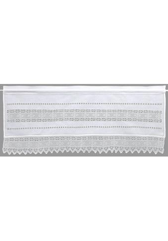HOSSNER - ART OF HOME DECO Querbehang »Birnhorn«, Häkelspitze - ECHTE Handarbeit kaufen