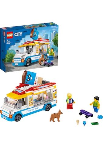 LEGO® Konstruktionsspielsteine »Eiswagen (60253), LEGO® City Great Vehicles«, (200... kaufen