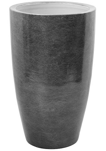 Fink Übertopf »Melua, grau/silberfarben«, (1 St.), Blumenübertopf, Blumentopf, Höhe 51... kaufen