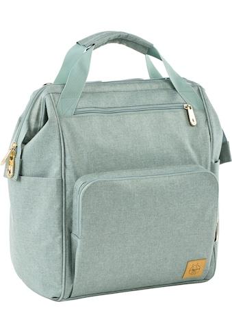 LÄSSIG Wickelrucksack »Glam Goldie, Backpack mint«, PETA-approved vegan kaufen