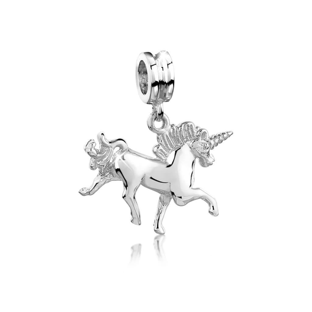 Nenalina Bead »Bead Einhorn Pferd Elfe Fabelwesen 925 Silber«
