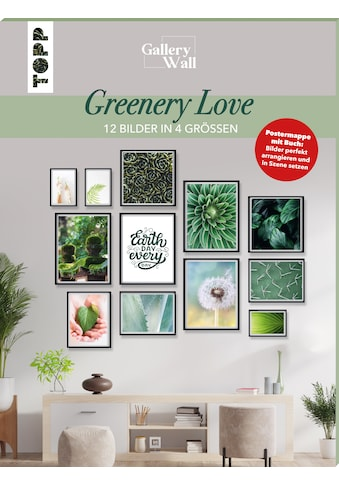 """Buch »Gallery Wall """"Greenery Love"""". 12 Bilder in 4 Größen / Frederike Treu« kaufen"""
