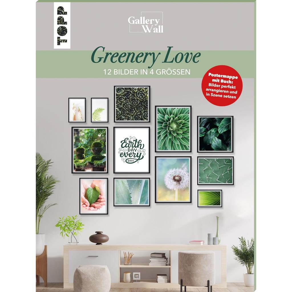 """Buch »Gallery Wall """"Greenery Love"""". 12 Bilder in 4 Größen / Frederike Treu«"""