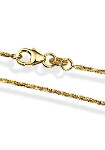 goldmaid Zopfkette 585/- Gelbgold 45 cm kaufen