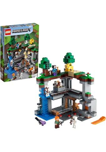LEGO® Konstruktionsspielsteine »Das erste Abenteuer (21169), LEGO® Minecraft™«, (542... kaufen