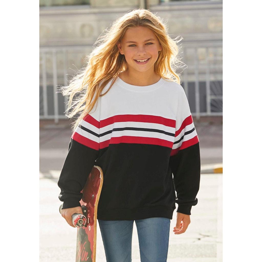 Arizona Sweatshirt, in sehr weiter Form