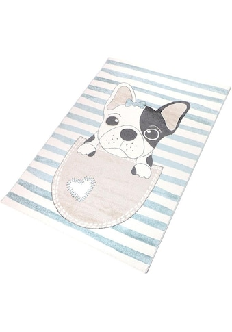 Kinderteppich, »Puppy«, Living Line, rechteckig, Höhe 12 mm, maschinell gewebt kaufen