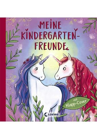 Buch »Meine Kindergarten-Freunde (Einhörner) / Loewe Eintragbücher, Simone Leiss-Bohn« kaufen