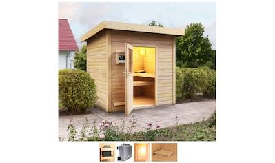 Karibu Saunahaus »Ralf«, 9-kW-Ofen mit ext. Steuerung kaufen