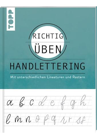 Buch »richtig üben Handlettering / Katharina Hailom« kaufen