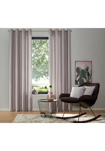 my home Vorhang »Luna«, Inkl. 2 Raffhaltern kaufen