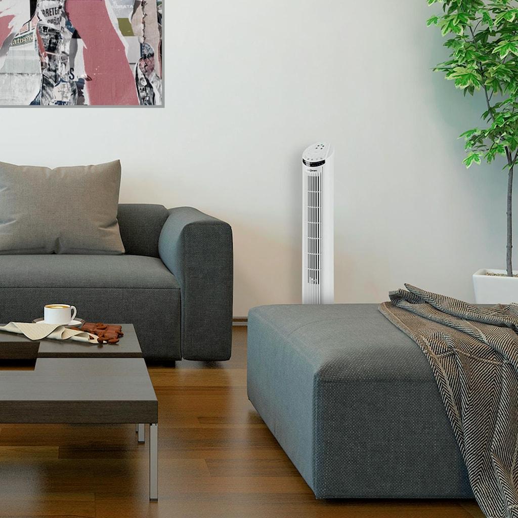 ONECONCEPT Säulenventilator Standventilator 50W 45° Oszillator Turmbauweise
