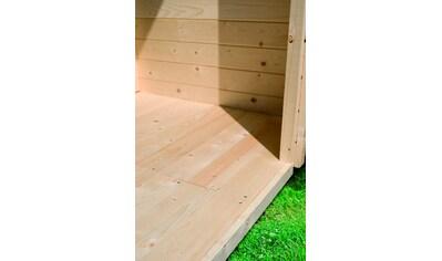 KARIBU Fußboden für Gartenhäuser »Bellantis« und »Stakkato«, BxT: 186x186 cm kaufen