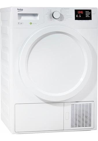 BEKO Wärmepumpentrockner »DPS 7405 W3«, 7 kg kaufen