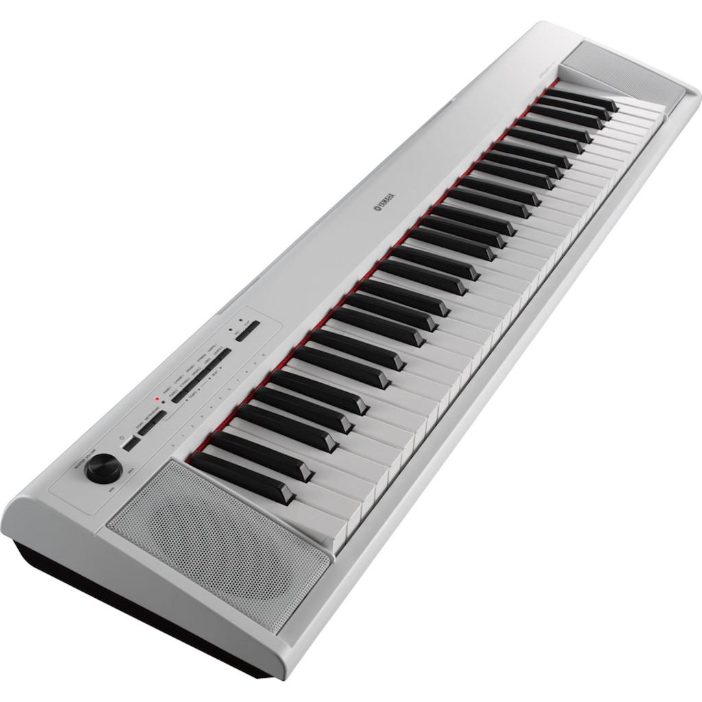 Yamaha Digitalpiano »NP-12WH«, einfache Verbindung über USB-to-Host-Anschluss