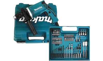 Makita Schlagbohrmaschine »HP1631KX3«, inkl. 74-tlg. Zubehörset kaufen