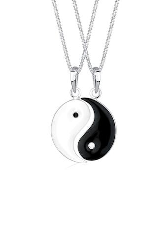 Elli Ketten-Set »Partnerketten Yin Yang 925 Sterling Silber« kaufen
