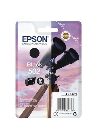 Epson Tintenpatrone - schwarz kaufen