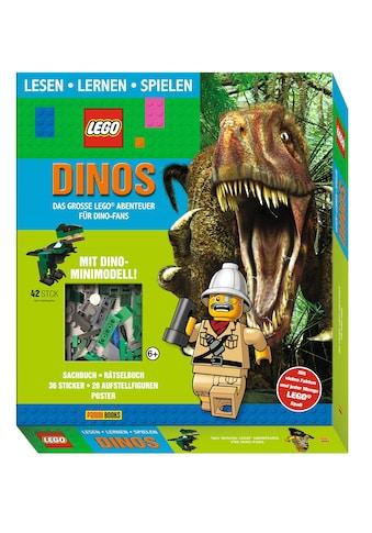 Buch »LEGO®: Dinos Das große LEGO® Abenteuer für Dino-Fans (Lesen, Lernen, Spielen) /... kaufen