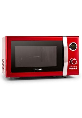 Klarstein 2in1 Mikrowellen - Ofen Retro mit Grillfunktion Grillrost 23L »Fine Dinesty« kaufen