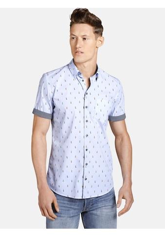 SHIRTMASTER Kurzarmhemd »thewanderer«, Baumwollhemd zum Krempeln kaufen