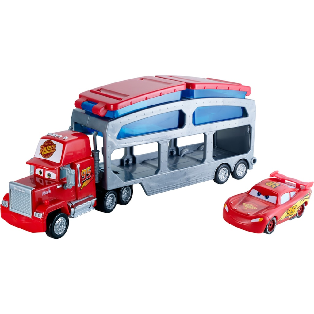 Mattel® Spielzeug-Auto »Disney Pixar Cars Macks Farbwechsel Station«