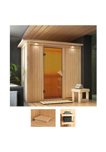 Karibu Sauna »Vada«, ohne Ofen kaufen
