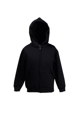 Fruit of the Loom Kapuzennickijacke »Kinder Unisex Kapuzenjacke Premium 70/30« kaufen