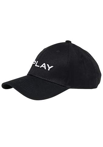 Replay Baseball Cap, mit gesticktem REPLAY-Schriftzug an der Vorderseite kaufen