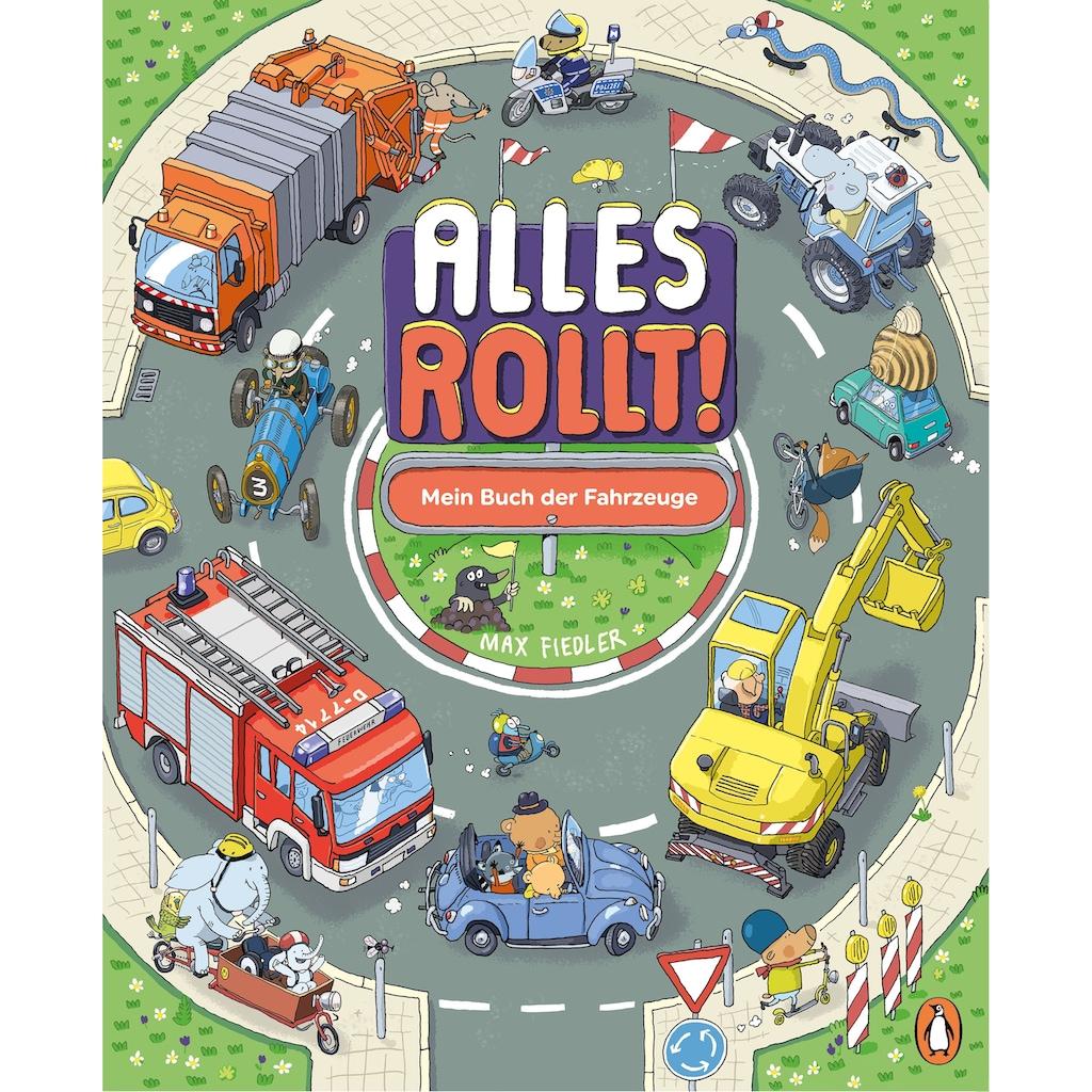Buch »Alles rollt! Mein Buch der Fahrzeuge / Max Fiedler, Max Fiedler«